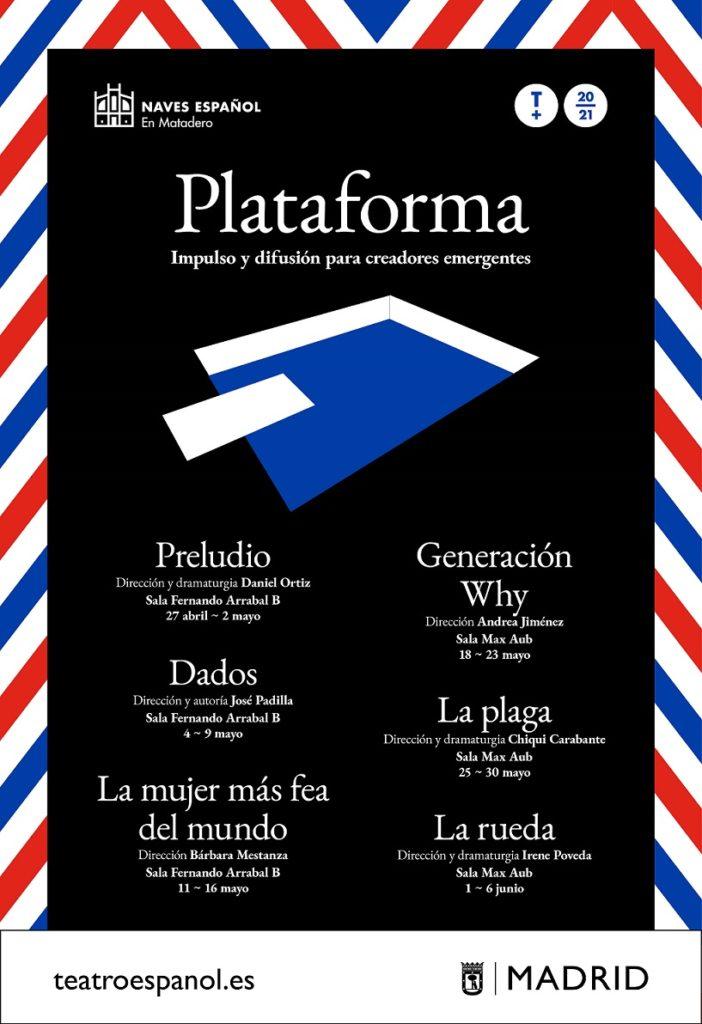 Plataforma. Impulso y difusión para creadores emergentes