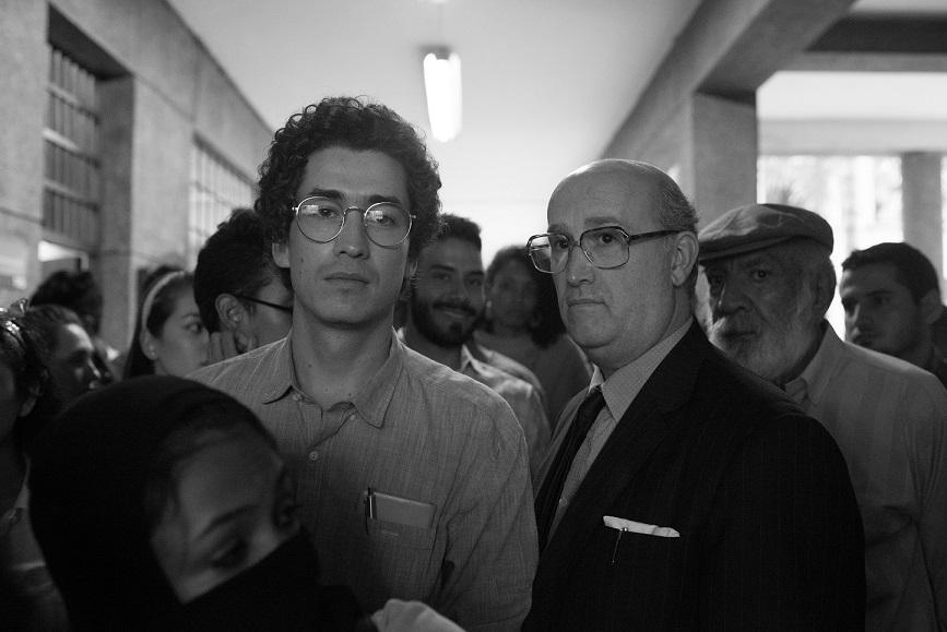 Hijo y padre tras una muerte por motivos políticos