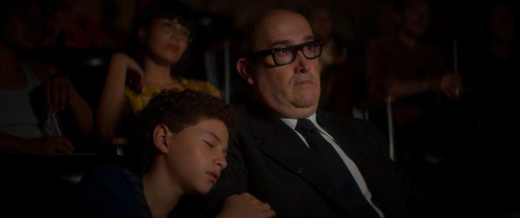 Abad hijo y Abad padre, juntos en el cine