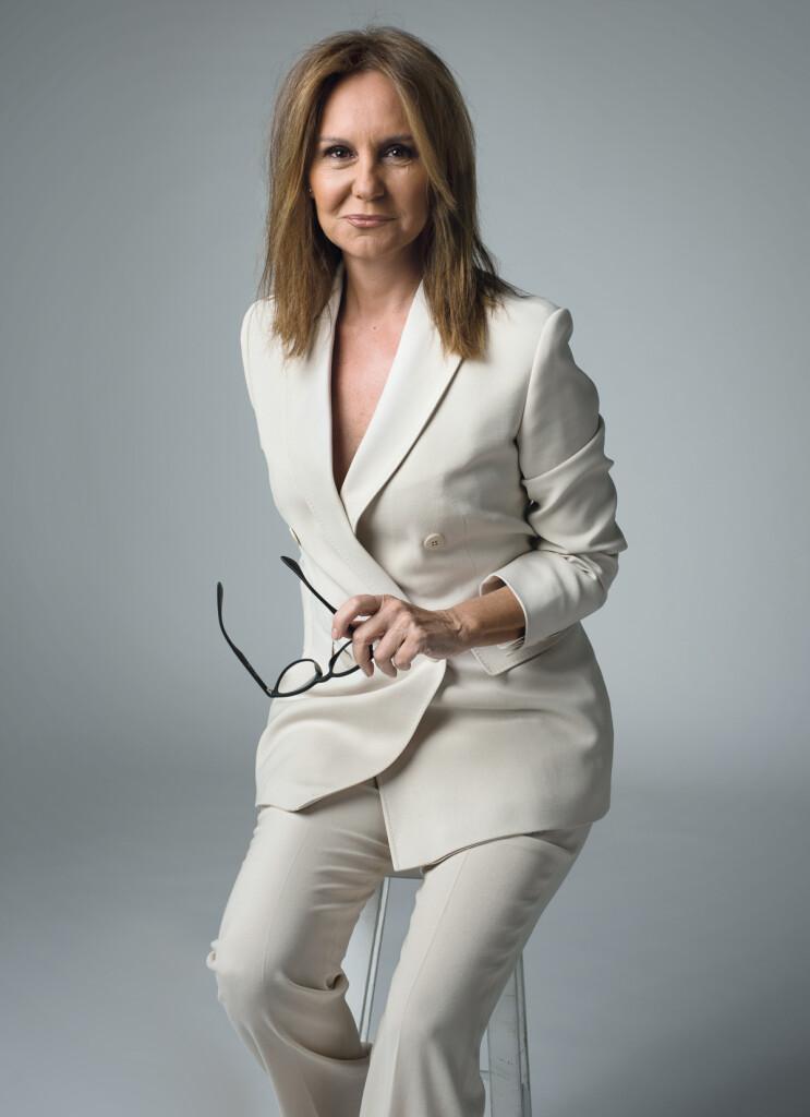 María Dueñas, escritora de Sira y El tiempo entre costuras  Foto: © Carlos Carrión. Todos los derechos reservados.