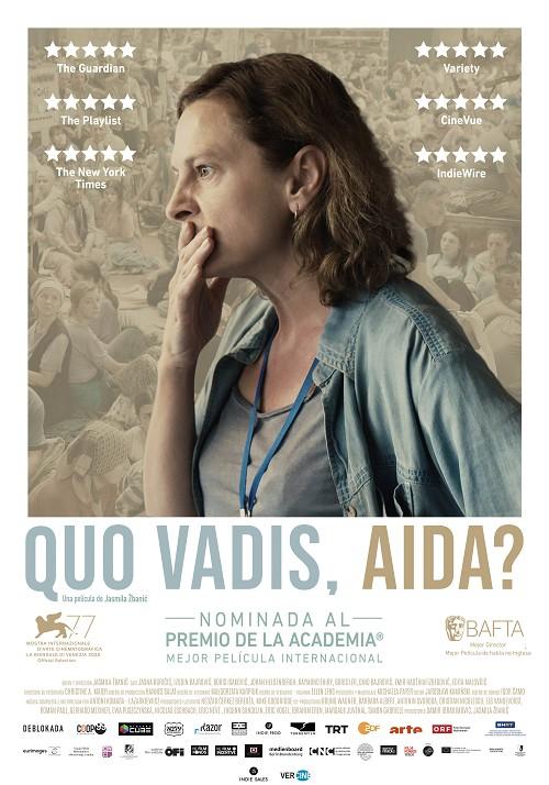 Póster de Quo Vadis, Aida?
