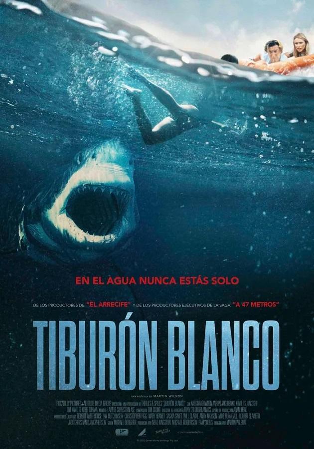 Póster de Tiburón blanco