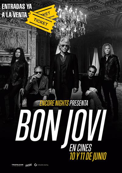 Póster de Bon Jovi From Encore Nights