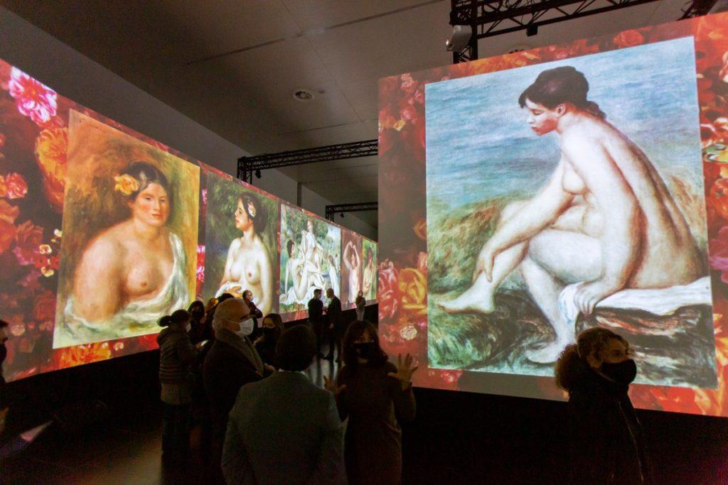 La exposición Impresionistas ofrece una experiencia de inmersión total para el público