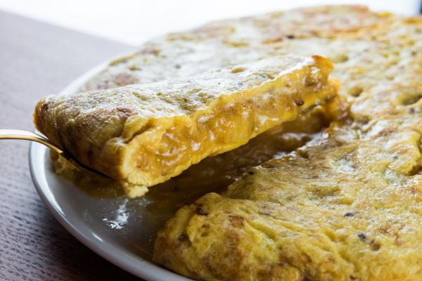 Restaurante Colósimo tortilla
