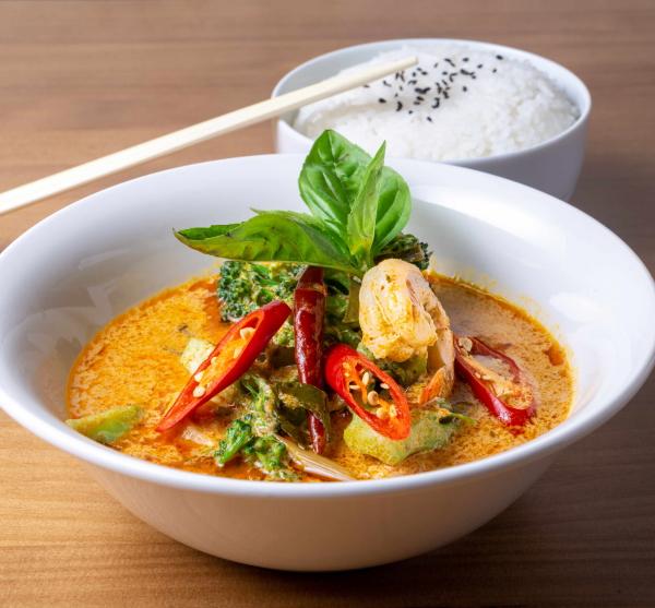 Zen Asian Bistró Ponzano curry