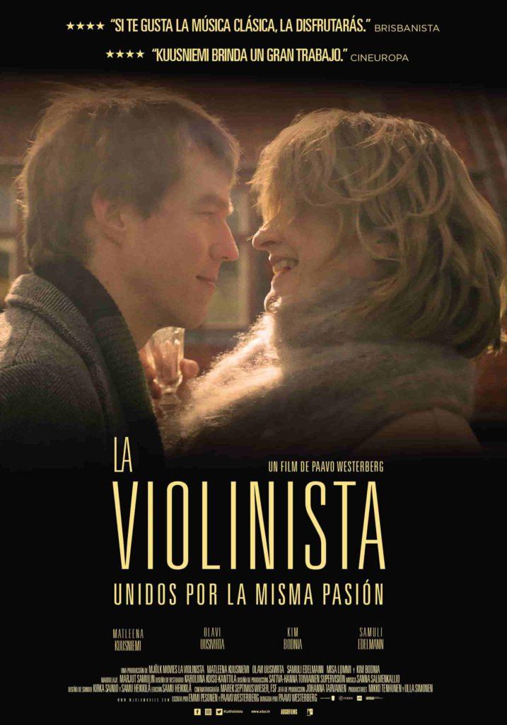 Póster de La violinista