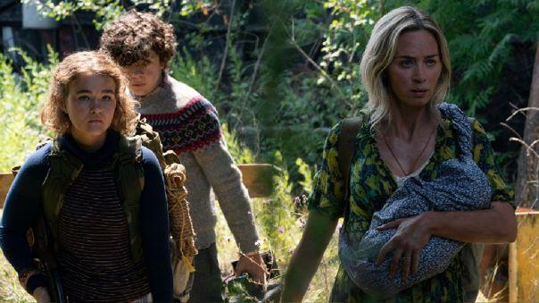 Regan, Marcus y Evelyn