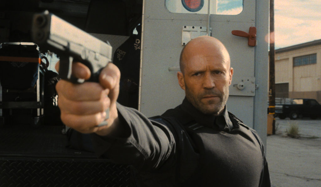 Jason Statham siendo muy duro