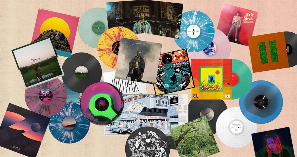 Bandcamp y algunos discos de sus artistas
