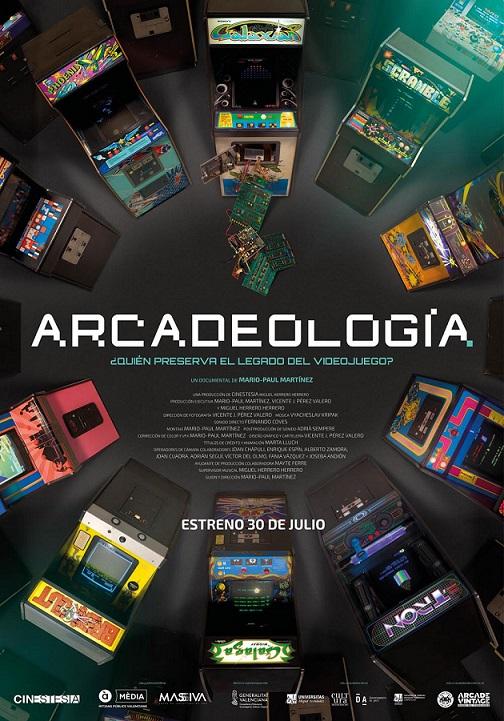 Póster de Arcadeología