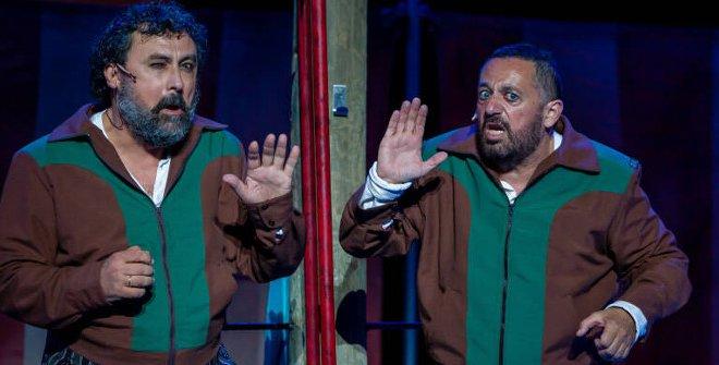 Paco Tous (izda.) y Pepón Nieto (Dcha.) son los protagonistas de esta divertida comedia, que también hace pensar