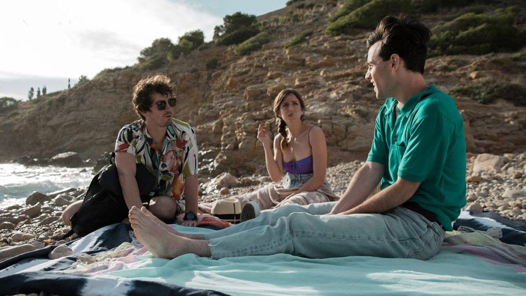 Pierre y Sandra animando a Dani