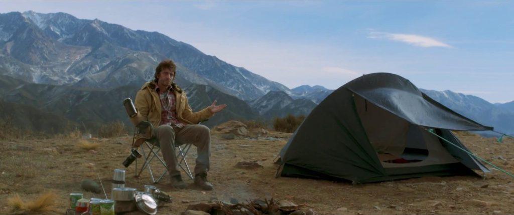 Araujo acampando, como un ermitaño tras el robo