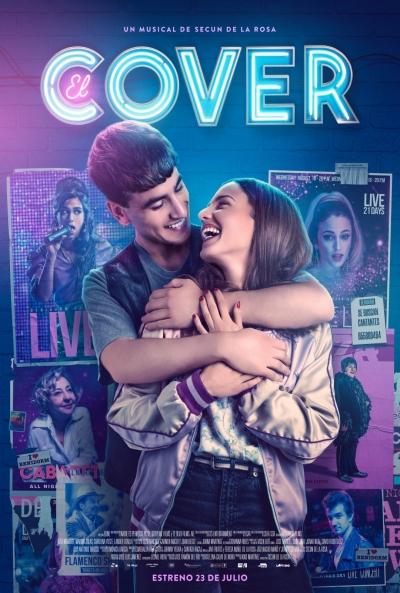 Póster de El cover, cine español con Carolina Yuste entre los estrenos del 23 de julio