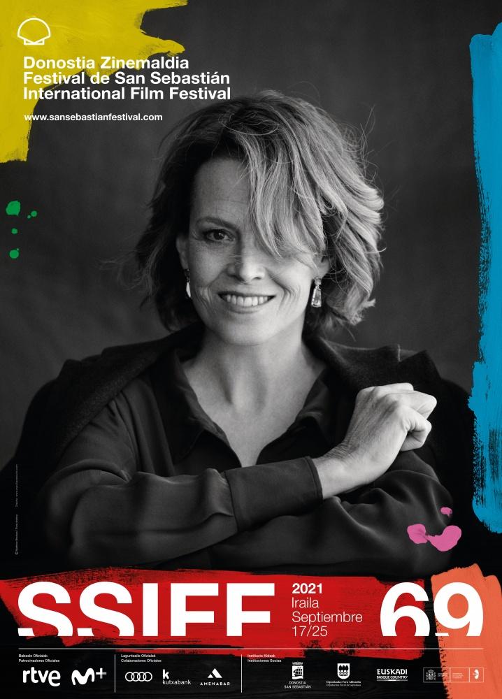 Sigourney Weaver protagoniza la imagen de la 69 edición del SSIFF