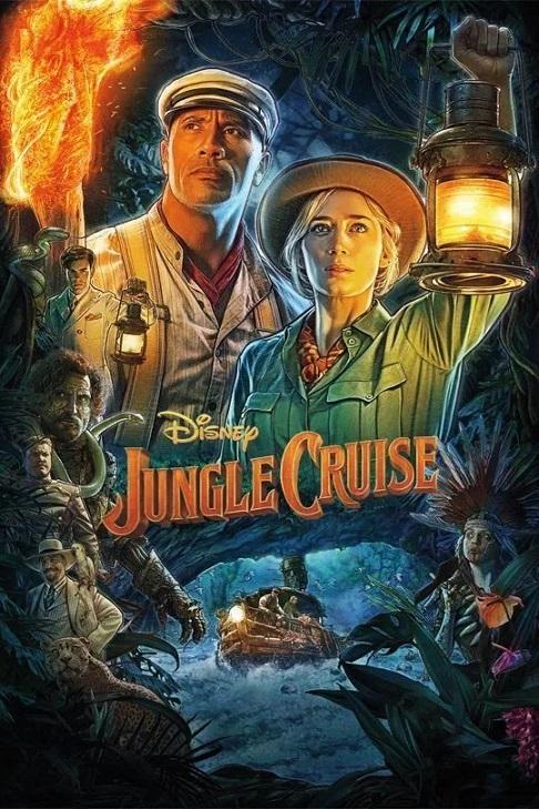 Póster de Jungle Cruise. ¿Será el taquillazo entre los estrenos del 30 de julio?