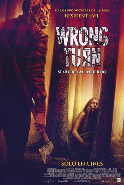 Póster de  Wrong Turn: Sendero al infierno