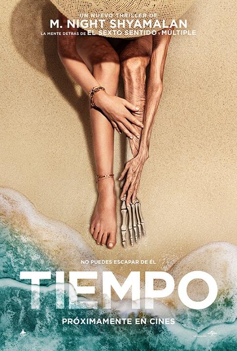 Póster de Tiempo, terror entre los estrenos del 30 de julio