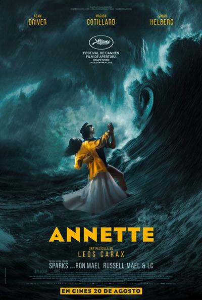 Póster de Annette