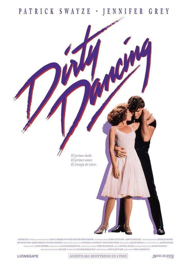 Póster de Dirty Dancing. Un reestreno entre los estrenos del 27 de agosto