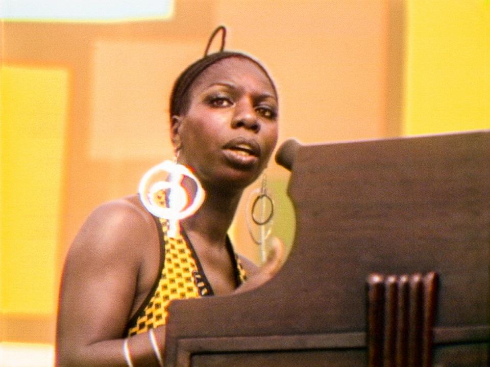 Nina Simone en el Harlem Cultural Festival en 1969