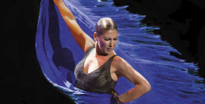 Impactantes coreografías protagonizan el espectáculo Sombras, de Sara Baras