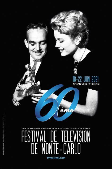 Póster del 60 Festival de TV de Monte-Carlo