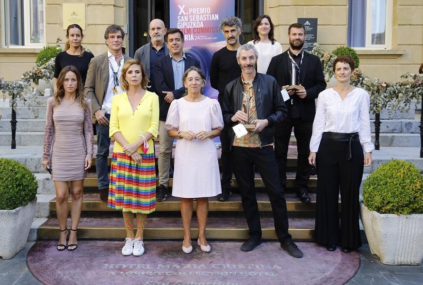 PREMIO FILM COMISSION. FOMENTO DE SAN SEBASTIAN. FESTIVAL DE CINE DE SAN SEBASTIAN. 24/09/2021. FOTO SARA SANTOS