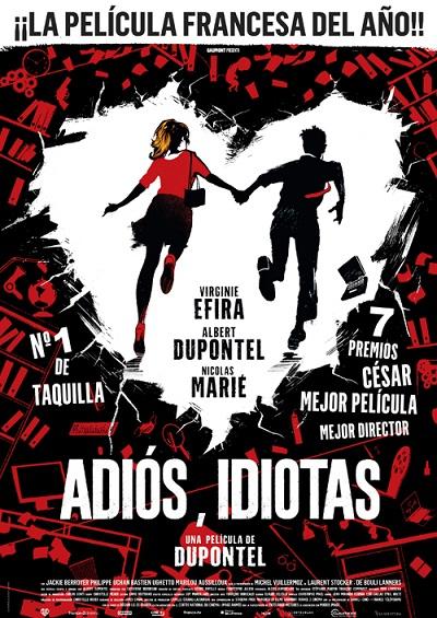 Póster de Adiós, idiotas. La cinta francesa del año entre los estrenos del 10 de septiembre