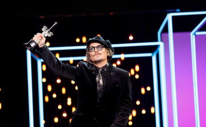 segundo premio donostia, Johnny Depp, 69 SSIFF