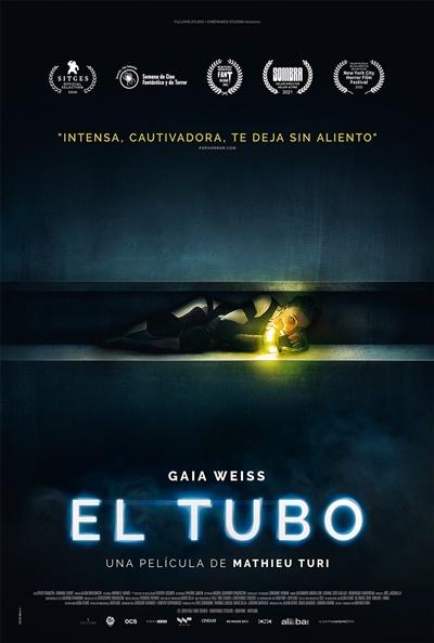 Póster de El tubo, disfrutada en el terror donostiarra y ahora en los estrenos del 3 de septiembre