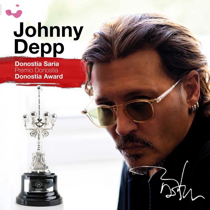 Johnny Depp, Segundo Premio Donostia del 69 SSIFF