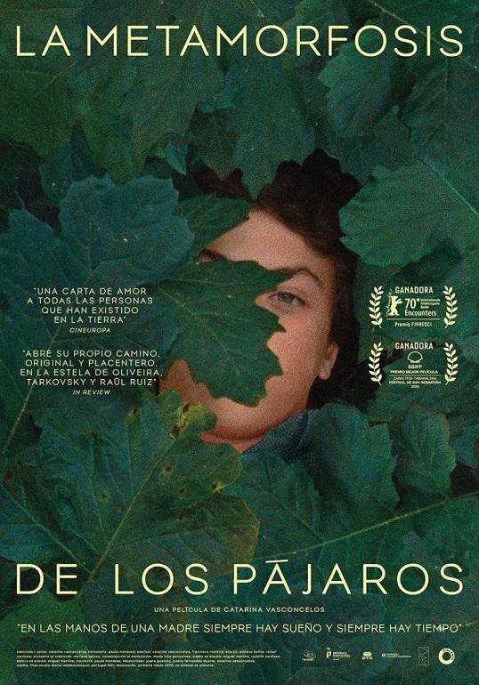 Póster de La metamorfosis de los pájaros, un documental entre los estrenos del 3 de septiembre