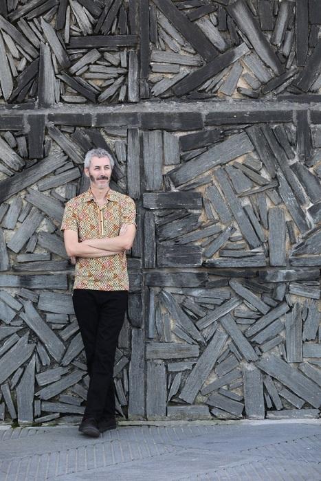 Igor Legarreta durante el 69 SSIFF. Fotografía de Alex Abril